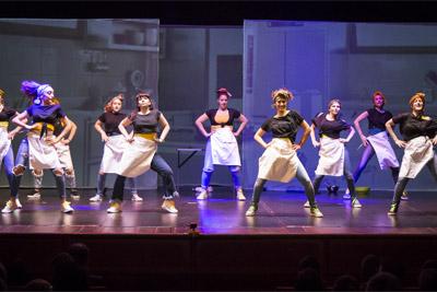 dance hall - cucina